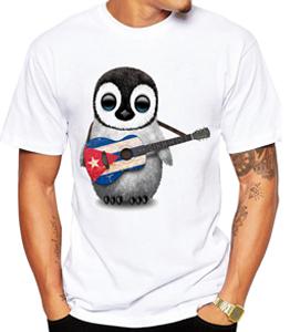 Wholesale Cute White T-Shirt Men Manufacturer