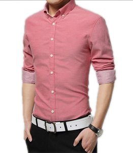 Wholesale Fitted Long Sleeve Shirts Mens Manufacturer