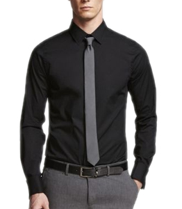 Wholesale Formal Black Shirt Manufacturer