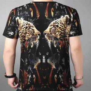 wholesale leopard 3d delusion t-shirts supplier