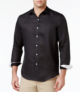 Wholesale Long Sleeve Black Designer Shirt Manufacturer