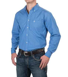 Wholesale Long Sleeve Blue Shirts Manufacturer