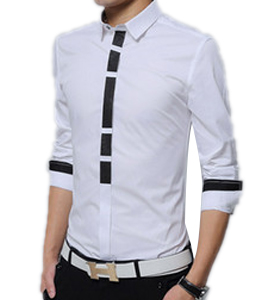 Wholesale Mens Long Sleeve Designer Shirts Manufacturer