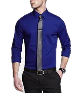 Wholesale Navy Blue Dress Shirt Mens Manufacturer