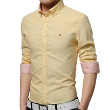 wholesale yellow shirt for men Manufacturer