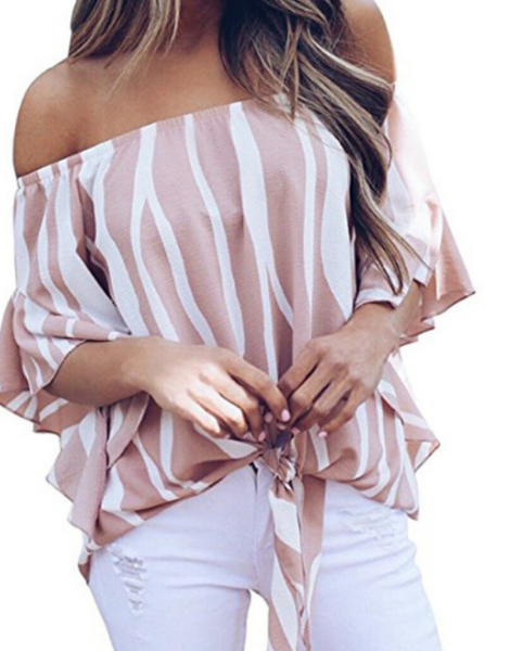 Custom Fashion Summer Women Top Shirt And Blouses