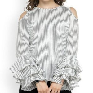 Bulk Off Shoulder Chiffon Top