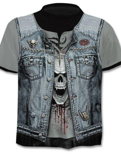 Bulk 3D Jacket Printed Tshirt Manufacturers