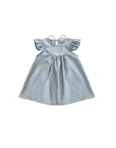 custom little girls dress with bloomer sets